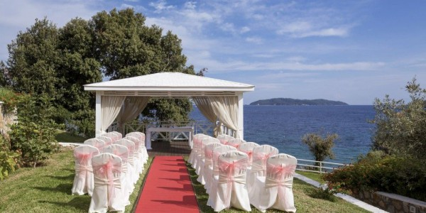 Kassandra bay wedding