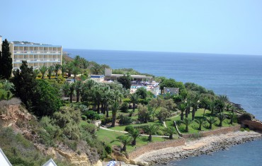 Mellieha bay hotel view