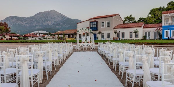 Rixos premium tekirova wedding