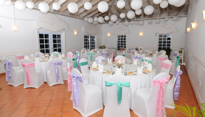 Coconut bay reception