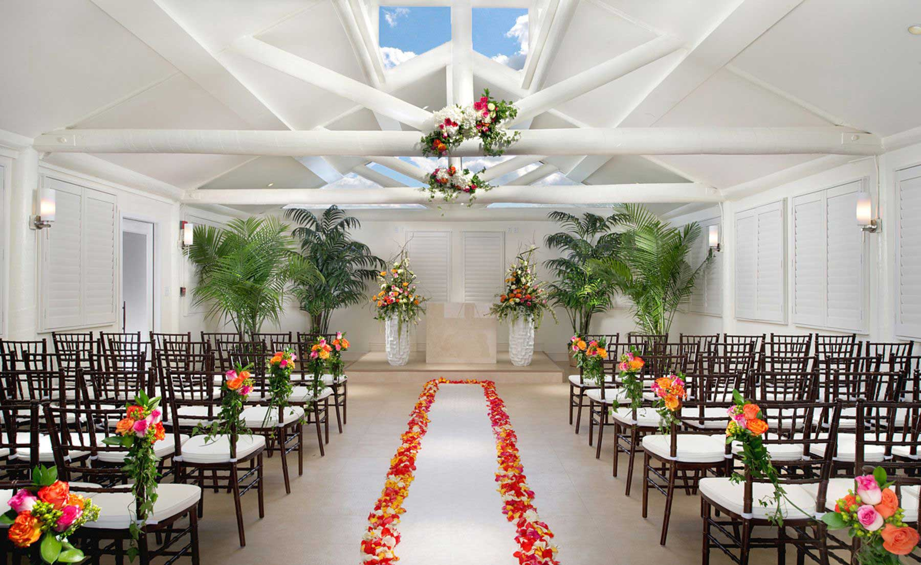 Tropicana wedding