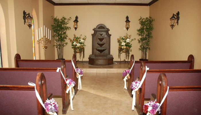 Inside Special Memory Wedding Chapel