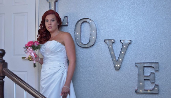 Bride at Special Memory Wedding Chapel